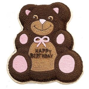 Lovable Teddy Shaped Cake