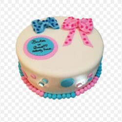 Baby Shower Bows Cake